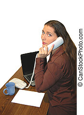Business 4700 - business woman on phone