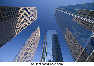 Downtown LA - high-rises in los Angeles