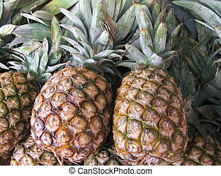 Markets - Pineapple - Pineapples at the markets