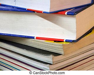 Books - pile - Pile of books