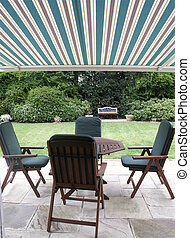 Outdoor Living - Garden Furniture on Patio