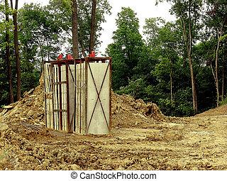 Concrete Forms - Construction - Concrete Foundation Forms...
