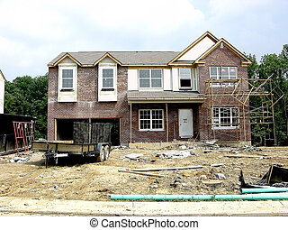 Hard Hat Area - Construction - Hard Hat Area Brick laying...