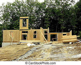 House Framing - Construction - Framing a House *** The...
