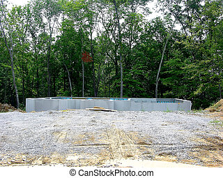 Concrete Foundation - Construction - Poured Concrete...