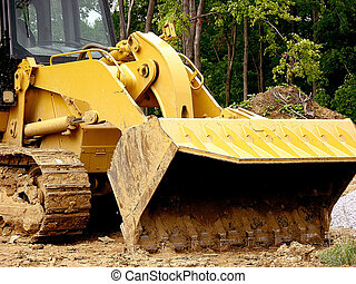 Digger Shovel - Construction - Front Loader Scoop Shovel The...