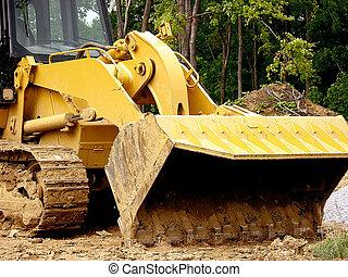 Digger Shovel - Construction - Front Loader Scoop Shovel The...