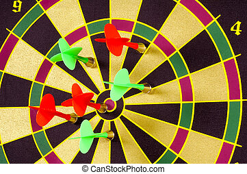 Missing The Mark - Dart and a Dart Board