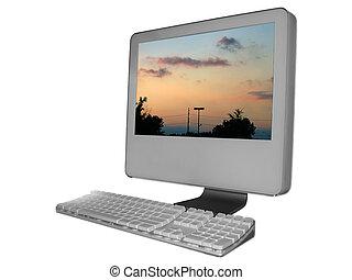Desktop Computer - Picture Of Desktop Computer