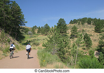 casual ride - Casual mountain bikeing in Colorado