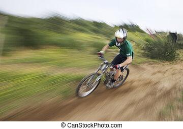 Explode - mountain bik racer