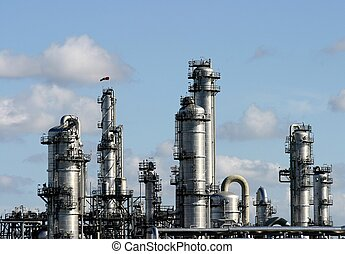 Chemical factory - chemical plant -europe