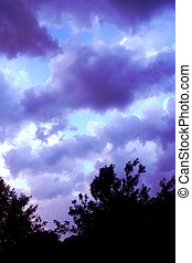 Darkening Sky 2 - Surreal night Sky scenery
