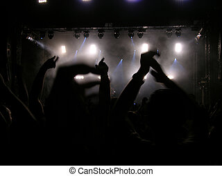 Hands Up Everybody - Concert - Perfect For Flyers