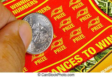 Lotto Ticket - Scratch Lotto Ticket