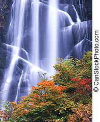 Waterfall - Jiuzhaigou Valley Scenic and Historic Interest...