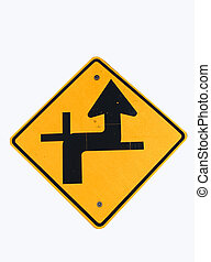 Indecision - confusing direction sign