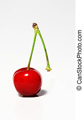 Abandoned - A single cherry that has been abandoned by its...