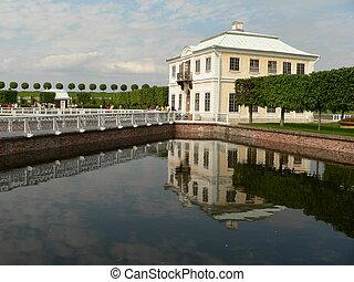 Marli palace - Peterhof Marli palace