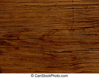 Redwood Plank - Close-up of an old faded Redwood plank Shot...