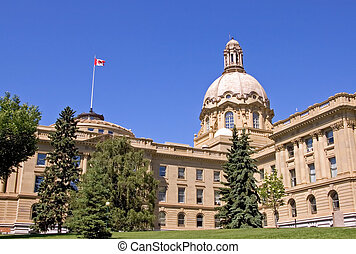 Alberta Legislature - The Alberta Legislature in Edmonton
