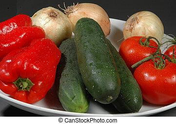 vegetables - fresh vegetables close up