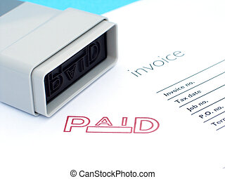 factura, pagado