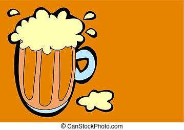 Beer - pint of beer