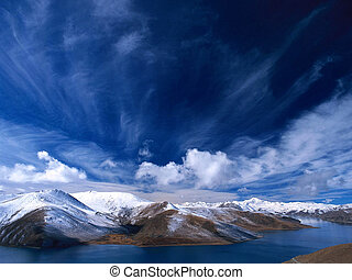 Sky - The view in Tibet
