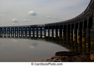 tay bridge 3 - The bridge over the tay, scene of a famous...