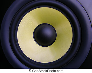 Yellow Woofer - Membrane Speaker