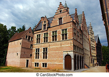 Historical building. - An historical building in an open air...