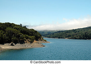 Crystal Springs Reservoir, San Mateo, California