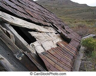 tin roof 1 - Tin  roof in Hamilton Nevada