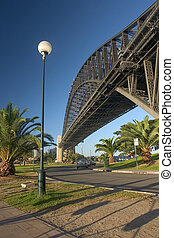 Harbour Bridge in the morning