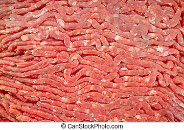Ground Beef Texture - 90 lean ground beef 14MP camera,macro...