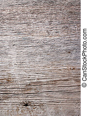 Weathered wood 1 - Gray weathered driftwood plank