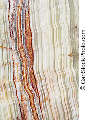 Onyx slab - Polished banded Pakistan onyx slab