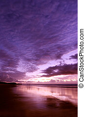 First Light - Sunrise at Noosa beach, Australia
