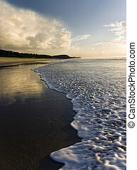 Morning has broken - Shot at Sunrise Beach, Queensland,...