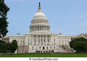 The Capitol Dome - US Capitol building in Washington DC