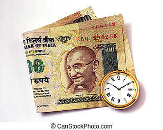 Time and Money - Time, Indian Money