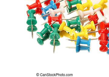 Novedad alfileres de tachuelas tachuelas de pulgar