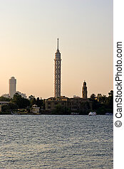 Cairo Tower - View of the Cairo Tower