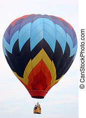 Hot Air Balloon - Multi Colored Hot Air Balloon - 2005 NJ