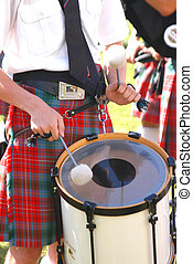 Scottish Pipe and Drum - drummer
