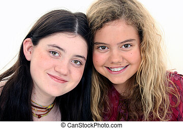 Tween Girl Friends - Two beautiful 12 year old friends...