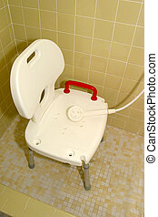 Medical Shower Chair 1 - a medical shower chair and shower...