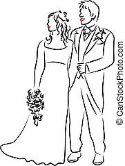 Wedding Couple - married couple