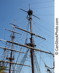 Noble Mast - Tall ship mast